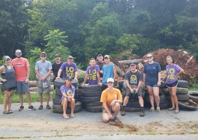 Sugar Creek Cleanup July 14, 2018 2